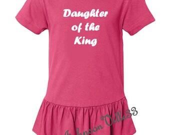 Daughter of the King christian girls shirt / onesie