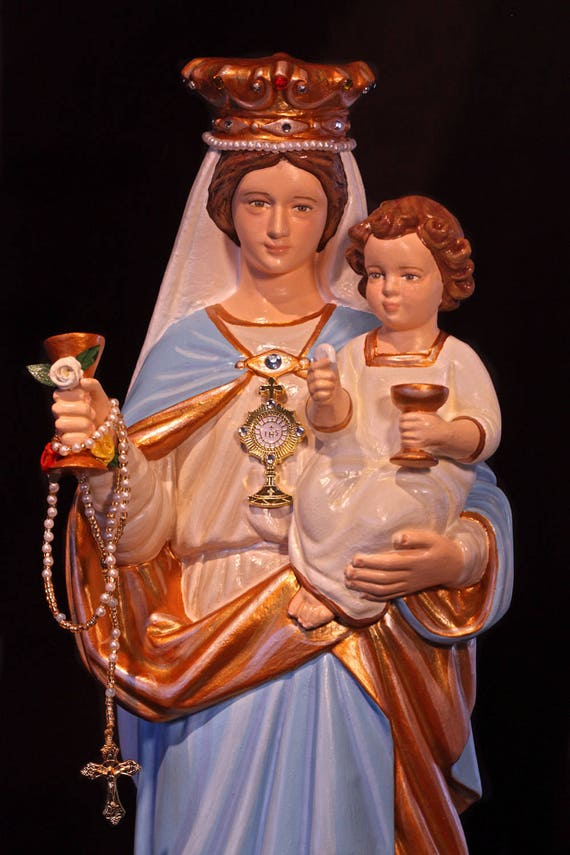 Our Lady of the Most Blessed Sacrament and the Infant Jesus 16""