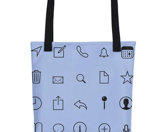 Iconic Pattern Tote bag