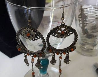 Big earrings steampunk #2