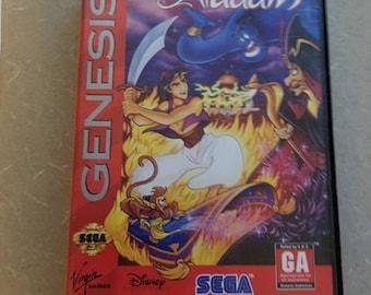 Aladdin Sega Genesis In Box