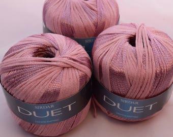 Fashion Knitting Cotton Blend in Salmon Pink