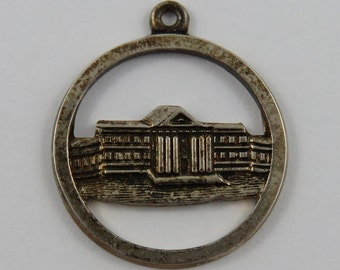 50th Anniversary Shriners Hospital Canada July 1975 Sterling Silver Vintage Charm For Bracelet