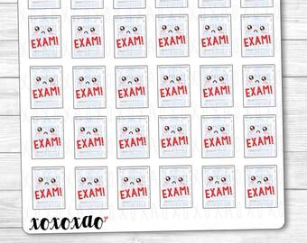 B044 | Exam Kawaii Planner Stickers