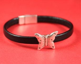 3A/9 MADE IN EUROPE 2 zamak butterfly sliders 6mm flat cord, butterfly slider for 6mm flat cord (76438/06) Qty2