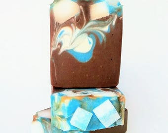 Sugary Blues 5.5 oz Cold Process Soap