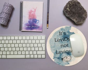 Leviosa / Muggles  Mouse Pad — Potterhead inspired gift for Harry Potter fans