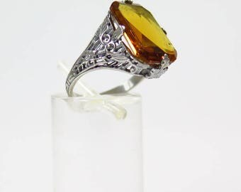 Victorian Silver Ring