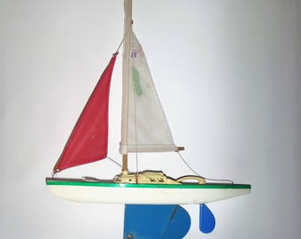 Vintage Balandro toy sail boat, Toy, with original box