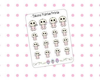 Mogus Baking Cookies Pie Planner Stickers M3