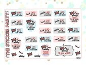 The Royal Wedding Countdown Planner Stickers