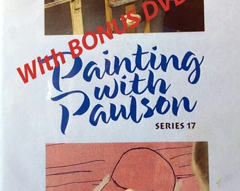 Painting with Paulson DVD - PBS Series Number 17 - With Bonus DVD!