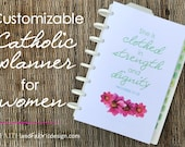 Customizable Catholic Planner for Women - IN PRINT VERSION