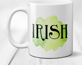 Happy easter coffee mug easter bunny floral coffee mug irish coffee mug irish mug st patricks day mug irish gifts st negle Choice Image