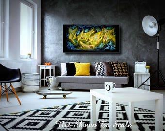 Graffiti Art Canvas, Large Wall Art Canvas, Graffiti Wall Art, Graffiti Canvas, Urban Art, Large Canvas Art, Abstract Wall Art, Graffiti Art