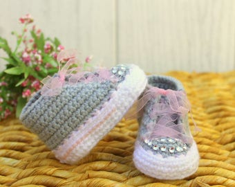 Baby girl SHOES, baby JEWEL shoes, newborn baby shoes, baby BLING shoes