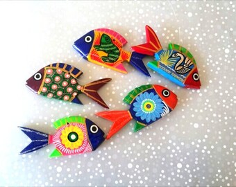 Fish wall art etsy for Mexico mobel