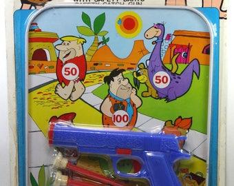 Vintage The Flintstones Quick Score Target Game MIP 1970s Hanna Barbera