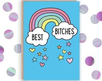 Card for best friend  Etsy