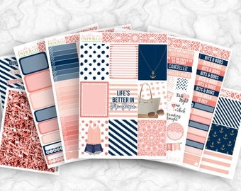 Sophia No White-Space Weekly Kit - Planner Stickers