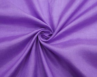 "Dupioni Silk Fabric, Purple Fabric, Sewing Decor, Upholstery Shantung Fabric, 43"" Inch Dress Fabric By The Yard ZSH4I"