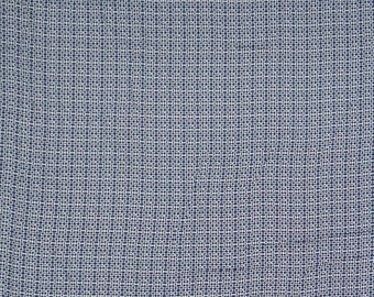 "Blue Dotted Print, White Fabric, Dress Fabric, Home Decoration, Handcrafted, 57"" Inch Cotton Fabric By The Yard ZBC7440A"