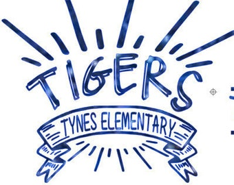 Tynes Elementary Shine Glitter Tee or hoodie