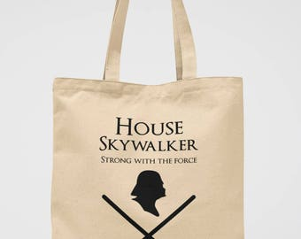 Darth Vader Tote Bag Star Wars Gift Canvas Bag - Star Wars Party Accessories GOT Lover Gift The Empire Strikes Back Library Bag