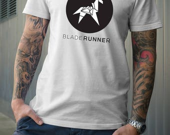 Blade Runner Tshirt Origami Style