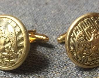 Florida Eagle Cufflinks - Confederate Uniform Buttons