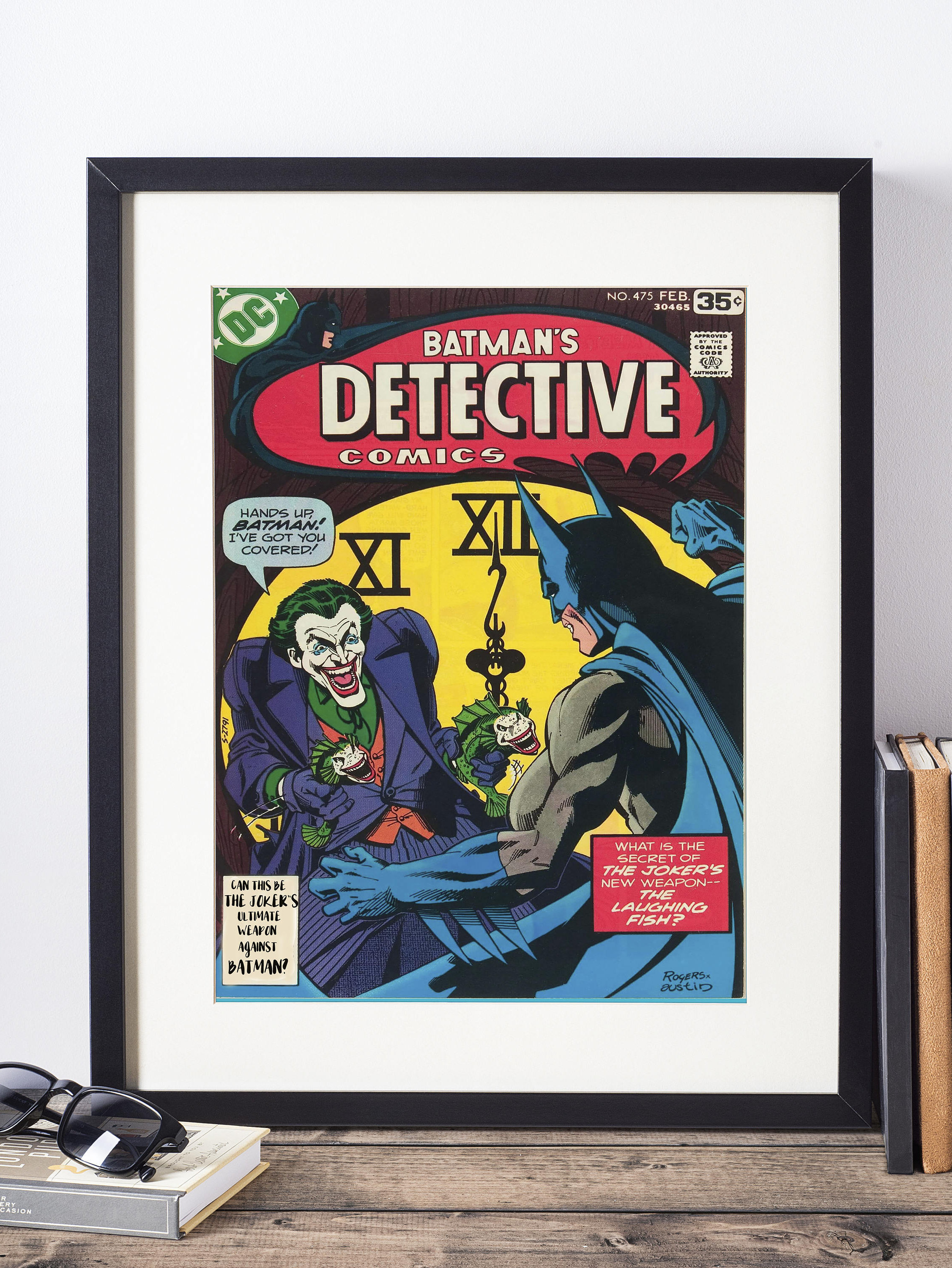 Dc Comics Wall Art Batman And The Joker Cover Print
