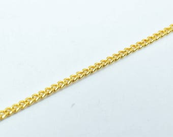 1mm Gold Filled Chain 18K GFC063 Sold by Foot