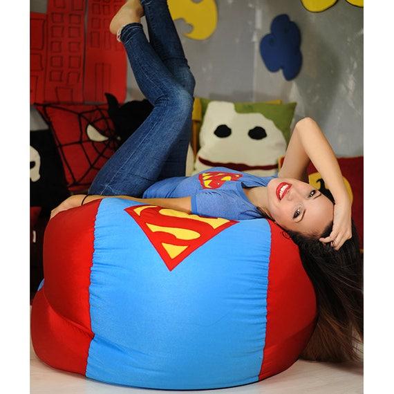 Superhero Bean Bag Cover Chair Gift