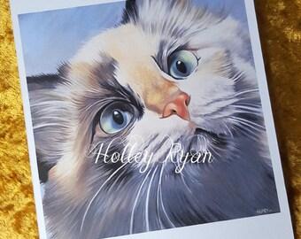 Kitten A4 Print