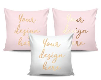 Foil Custom Pillow, Personalized Pillow, Custom Quote Pillow, Custom Text, Gift for Her, Personalized Baby Pillow, Christmas Gift for Mom