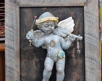 Framed Angel Art
