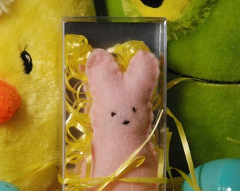 Stuffed Felt Peep - Perfect Addition to an Easter Basket