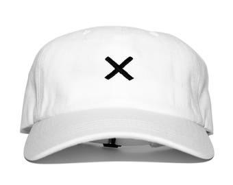 Dead X dad hat (white)
