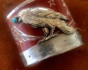 Thumb Butte Raven Cuff