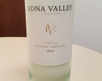 Edna Valley Pinot Grigio - Wine Bottle Candle