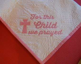 Custom baby quilt etsy baby quilt personalized baby quilt personalized baby blanket christening gift baby blanket negle Image collections