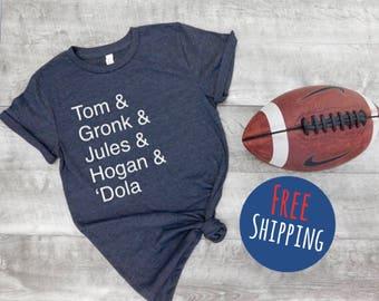 New England patriots shirt, patriots shirt, tom brady shirt, gronk shirt, pats nation shirt, football shirt, football fans, gift idea
