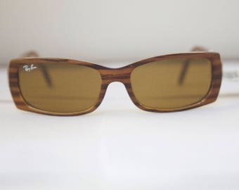 Deadstock Ray Ban rb4067 Vintage Sunglasses Frames / Made in Italy