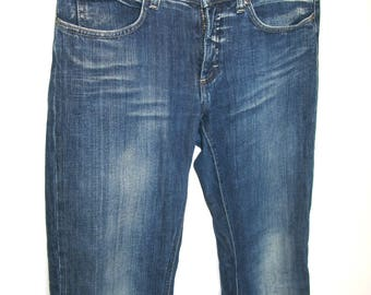 ACNE Blue Stowashed Demin Jeans