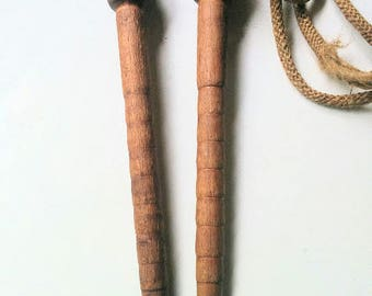Old wood Handled Skipping rope