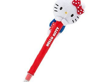 Hello Kitty Ballpoint Pen With Mascot - By Sanrio  Pyoconoru Serie ハローキティ ぴょこのるボールペン
