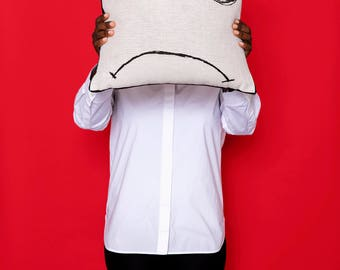 pillow : miss sunshine and rainbows