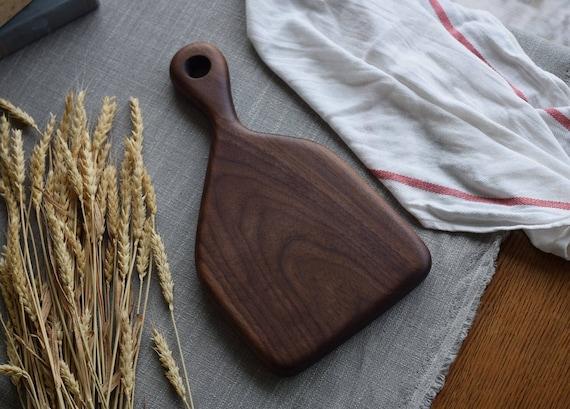 the Little Baker   Walnut bread board, cheese board, cutting board, serving board