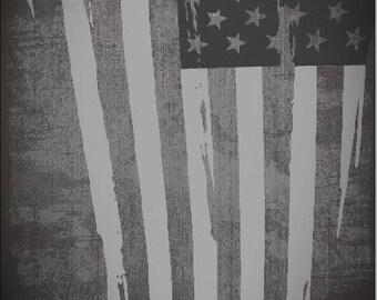 Tattered American Flag Cornhole Wrap Bag Toss Decal Baggo Skin Sticker Wraps