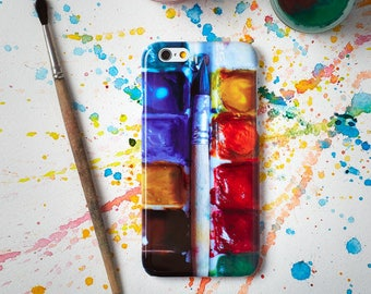 Colorful Paints iPhone 7 Phone Case  iPhone 6s Phone Case iPhone 5 Phone Case 7 Plus iPhone 5 5S 5C Case to Galaxy S5 Edge Note 5 iPhone 6